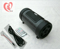 Free shipment 4 inch 220V12V Car Audio Car Motorcycle electric car audio speaker bass barrel gun card