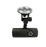 Manufacturers wholesale [F3000] Novatek external GPS, Dual Lens 720P G-Sensor Driving Recorder free shipping