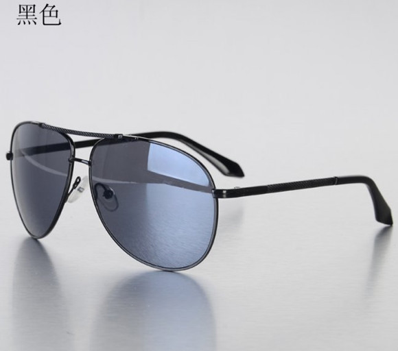 black Sunglasses for both men and women in Europe and the united Fan Chao frog mirror sunglasses driving glasses free shipping(China (Mainland))