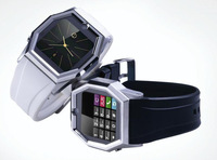 1.54 inch LCM touch screen, bluetooth + GSM quad-band + camera + MP3/MP4 Watch mobile phone, TW520