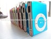 hot! 5pcs/lot clip mp3 music player with card slot mini mp3 player 8 colors & Free Shipping(China (Mainland))