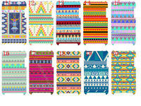 new skin design Aztec Tribal Tribe Pattern Retro Vintage case hard back cover for ipod touch 4 4G 4th 10PCS/lot+free shipping