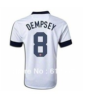 Men's Soccer Jersey Clint Dempsey USA Centennial Jersey 2013,Thai Player Version.