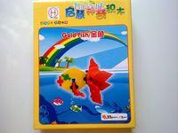 Educational toys magic blocks plastic color combination