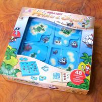 Puzzle toy pirate maze 48 puzzle maze