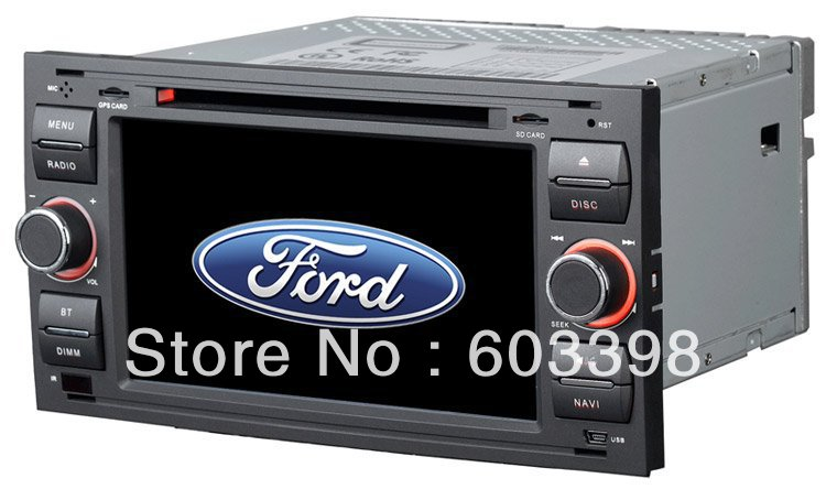 Ford Focus Car DVD Player with GPS Navigation , Low DVB-T and High DVB-T are optional(China (Mainland))
