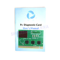 PC PCI & ISA  Diagnostic Card Analyzer Tester POST 1PC FREE SHIPPING #BDN805