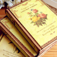 Korea stationery flower vintage diary florid this notebook 4kinds/lot
