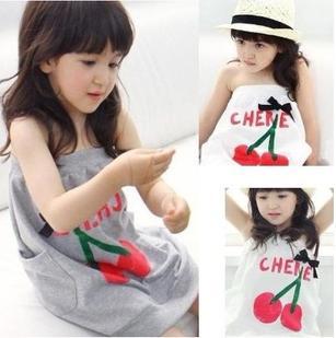 ملابس الاطفال صيف 2013 Children-s-clothing-female-child-2013-summer-child-small-cherry-tube-top-spaghetti-strap-one-piece.jpg