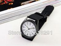 New 2014 Military fashion  ultra-thin light mens quartz watch, Royal army style, Black case,Nylon strap,free shipping