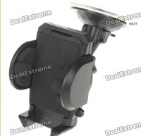 Universal Car Windshield Mount Support Holder Bracket For Cell Phone GPS-black Free Shipping
