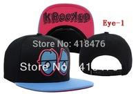 Free shipping wholesale Krooked Eyes Snapback Caps,high quality