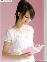 2013 new women Japan and South Korea  Collar Chiffon Blouse