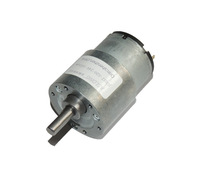 The JGB37-520 DC motor Can run in 6 v 12 v and 24 v...
