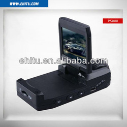 Free shipping 2013 Newest Wholesales car dvr car black box car camera ,2.0 inch screen carcam P5000, Best discount(China (Mainland))