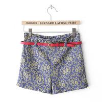 2013 summer slim casual shorts royal female
