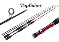 Spinning fishing rod 7' carbon fishing pole