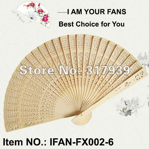 [I AM YOUR FANS]Free Shipping 200pcs/lot Fashion&Elegant Chinese wood wedding fan, best idea for wedding party(China (Mainland))