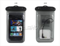 Phone waterproof bag diving sets with microphone waterproof headphones with straps to support 4.8-inch SPB-019