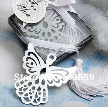 Free shipping Creative stainless steel bookmarks European angel bookmarks/gift bookmark,20pcs/lot,wholesale,CY-BK11
