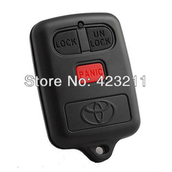 Remote Key Shell Case For Toyota Corolla RAV4 Vios Camry 2BT With Panic FT0189(China (Mainland))