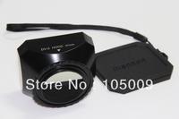 37mm 37 mm Mennon Screw Mount DV Digital Video Lens Hood with Cap