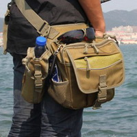 Acoustic lure waist pack leg bag multifunctional fishing tackle bag fishing tackle bag fishing rod bag fishing tackle