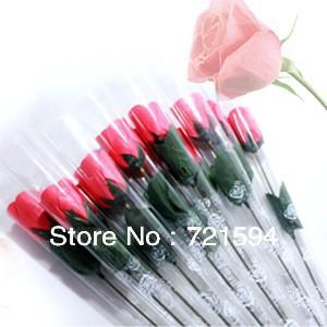 Free Shipping 10PSC/LOT  Rose Flower Soap Handmade Wedding Soap