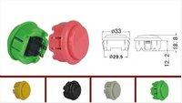 round 33mm button for arcade machine/arcade parts