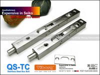 "VIBORG 15CM (6"") SUS304 Stainless Steel Door Bolt Security Door Guard Lever Action Flush Latch Slide Bolt Lock"