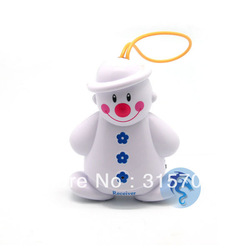 New Baby Induction Lovely Snowman Wireless Baby Cry Detector Monitor Watcher Alarm(China (Mainland))