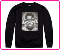 Stock Free Shipping 100% plus velvet cotton pullover sweatshirt black hype means nothing beyonce sweatshirt with most discount