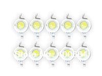 50 Pcs 3W White High Power Led Lamp Beads 200~230 Lm 45mil 6000-6500K
