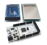 "Mega2560 ATmega2560-16AU+3.2"" TFT LCD Shield+Touch Screen SD Reader for Arduino 2560"