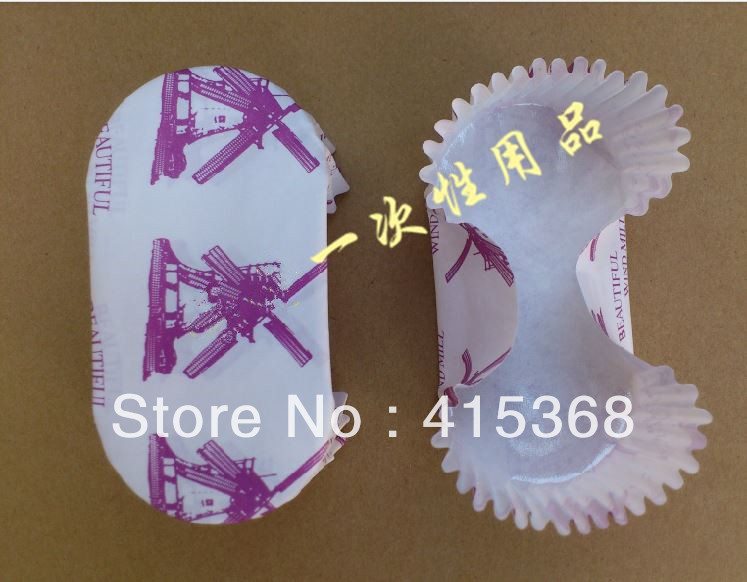 Free shpping! 200pcs Bread Case, 10cm Rectangle Windmill DIY Baking Oilpaper Liner/Stand, for Cupcake/Dessert/Muffin/Chocolate(China (Mainland))