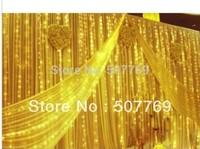 4m*2m 300LED lights flashing lane LED String lamps curtain Christmas home garden festival lights 110v-220v EU UK US AU
