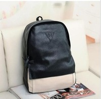 PU classic leisure bags, vintage backpacks for school free shipping