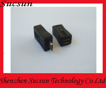 Hot sale Micro 5 Pin male to female connector adapter