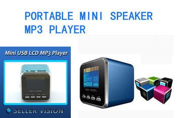 loudspeaker   A-08 Mini speaker with USB TF card slot ,FM radio  DHL Free shipping wholesale 200pcs/lot