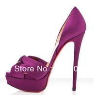 2013 Newest High Heels Shoes of Woman, High Grade Air Mesh 14CM SUPER HIGH Heels Platform Shoes Drop shipping!