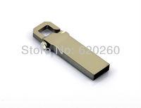 Free Shipping!!! Real capacity Carabiner lether metal USB 2.0 Flash drive Memory Stick 2GB 4GB 8GB 16GB 32GB USB pen drive