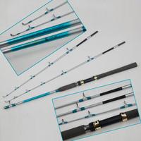 Haidon 1.65 - 1.8 meters boat pole boat fishing rod boat lure rod iron plate straight shank rod