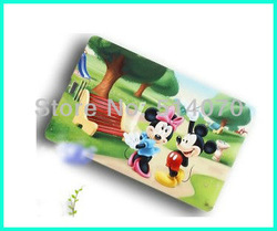 Wholesale NEW fashion waterproof 4GB plastick micky mouse bank card usb flash driver memory stick free shipping(China (Mainland))