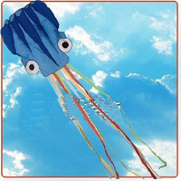 Free shipping Octopus kite Software kite 6 meters discoloration software Octopus chinese kite