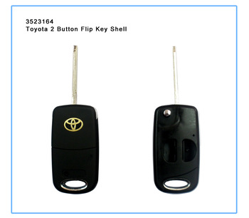 Good quality,New Style Filp Modified Remote Key Shell for Toyota