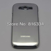 Luxury Aluminum Metal+Plastic Hard Back Case Cover for Samsung  i9082GALAXY Grand Duos .Hong Kong Airlines Free Shipping