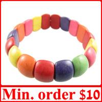 [ MIN.MIX ORDER $10 ] Colourful Gem Elastic Bracelet Bangle