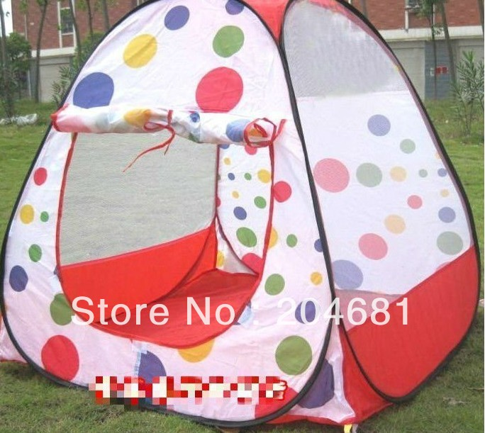 Free shipping Child tent oversized game house portable magic ocean ball pool baby toy tents(China (Mainland))