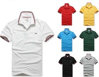 new arrival men fashion brand Tee shirts short sleeve male polo T-shirt free shipping