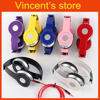 new fashion portable headset high resolution sound high quality Mini HD headphones earphones with logo